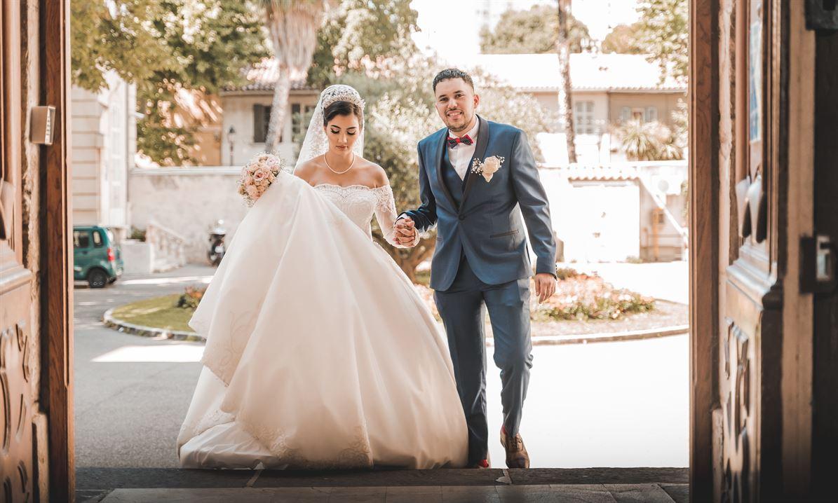 Photos des vrais mariages par un photographe professionnel 6