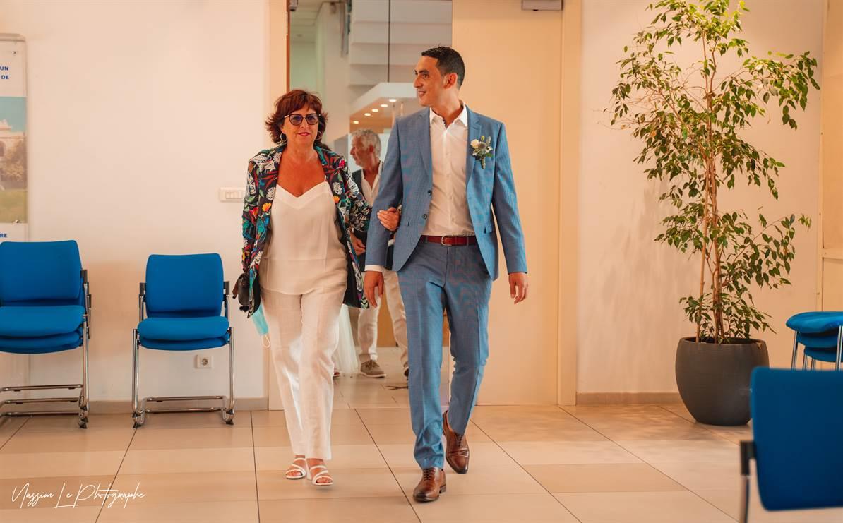 Mariage Amandine & Pierre-Malik : Mairie 33