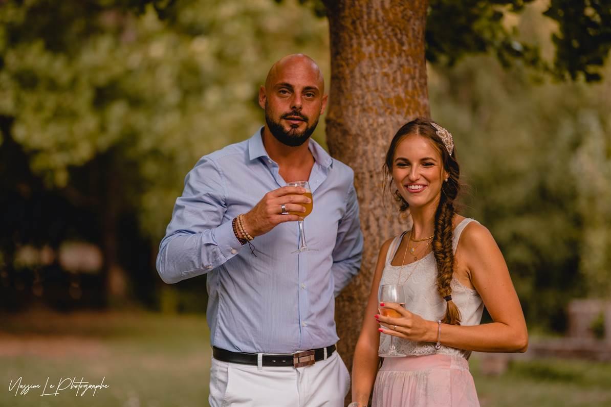 Mariage Amandine & Pierre-Malik : Photo de groupe 3