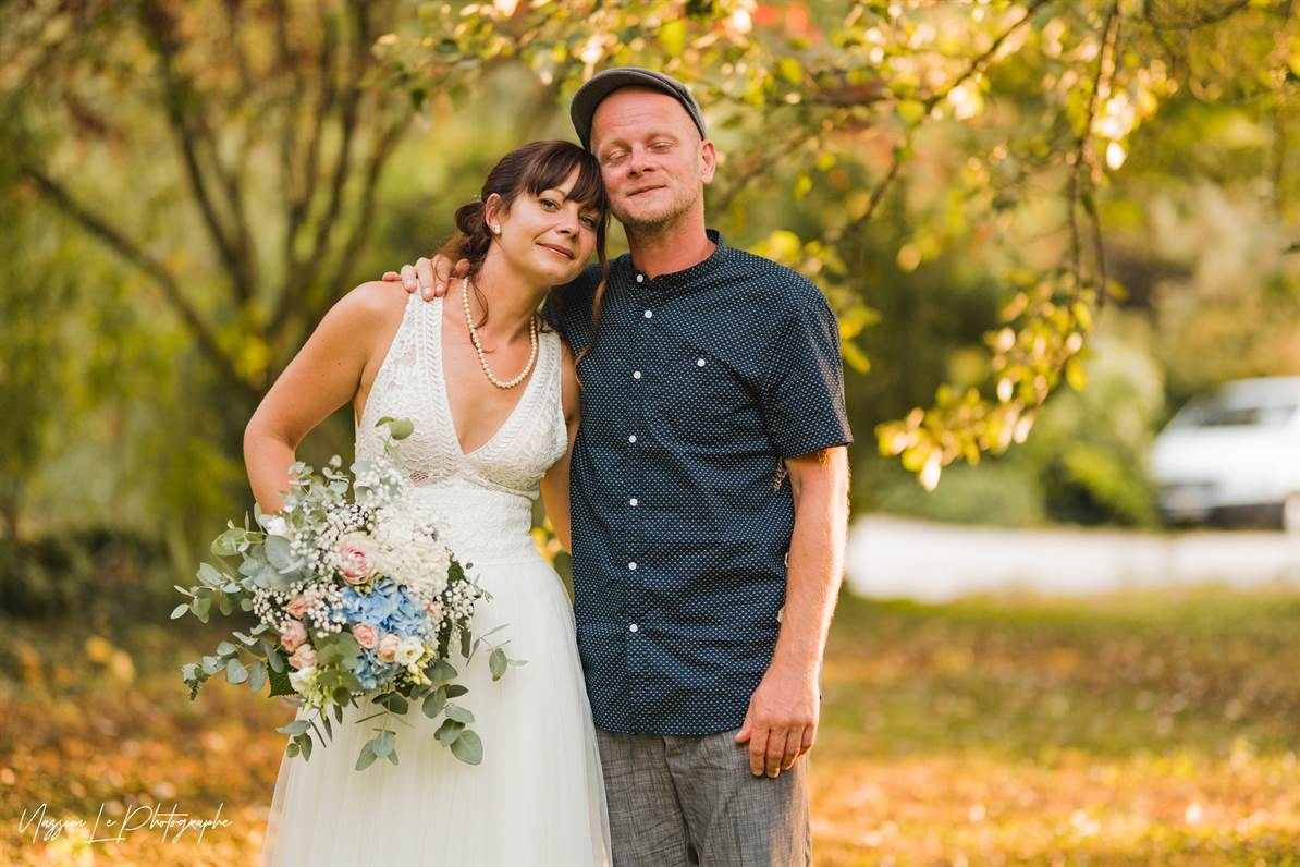 Mariage Amandine & Pierre-Malik : Photo de couple 37