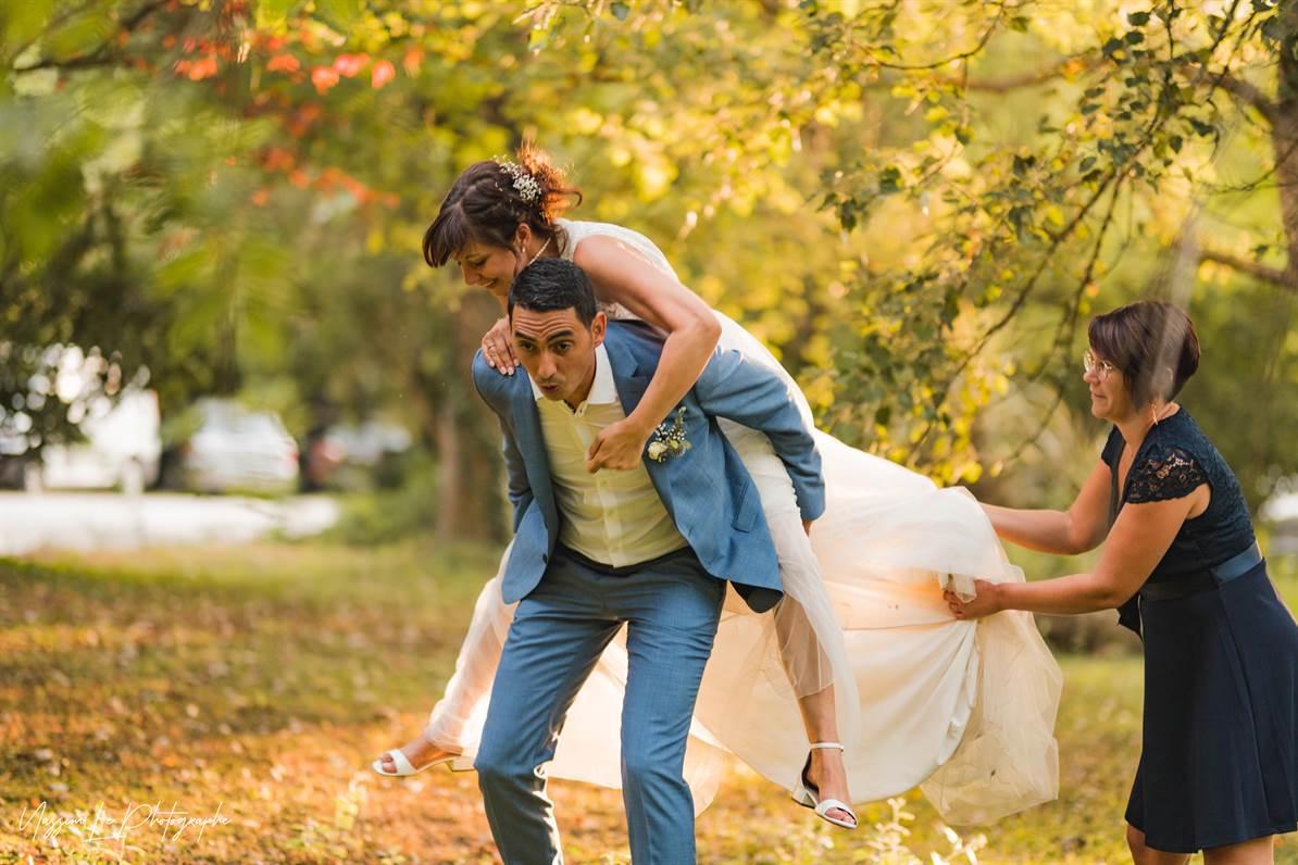 Mariage Amandine & Pierre-Malik : Photo de couple 36