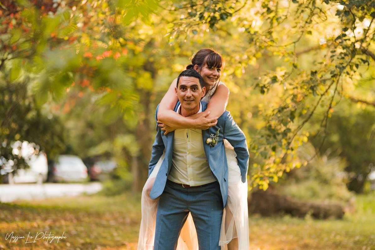 Mariage Amandine & Pierre-Malik : Photo de couple 33