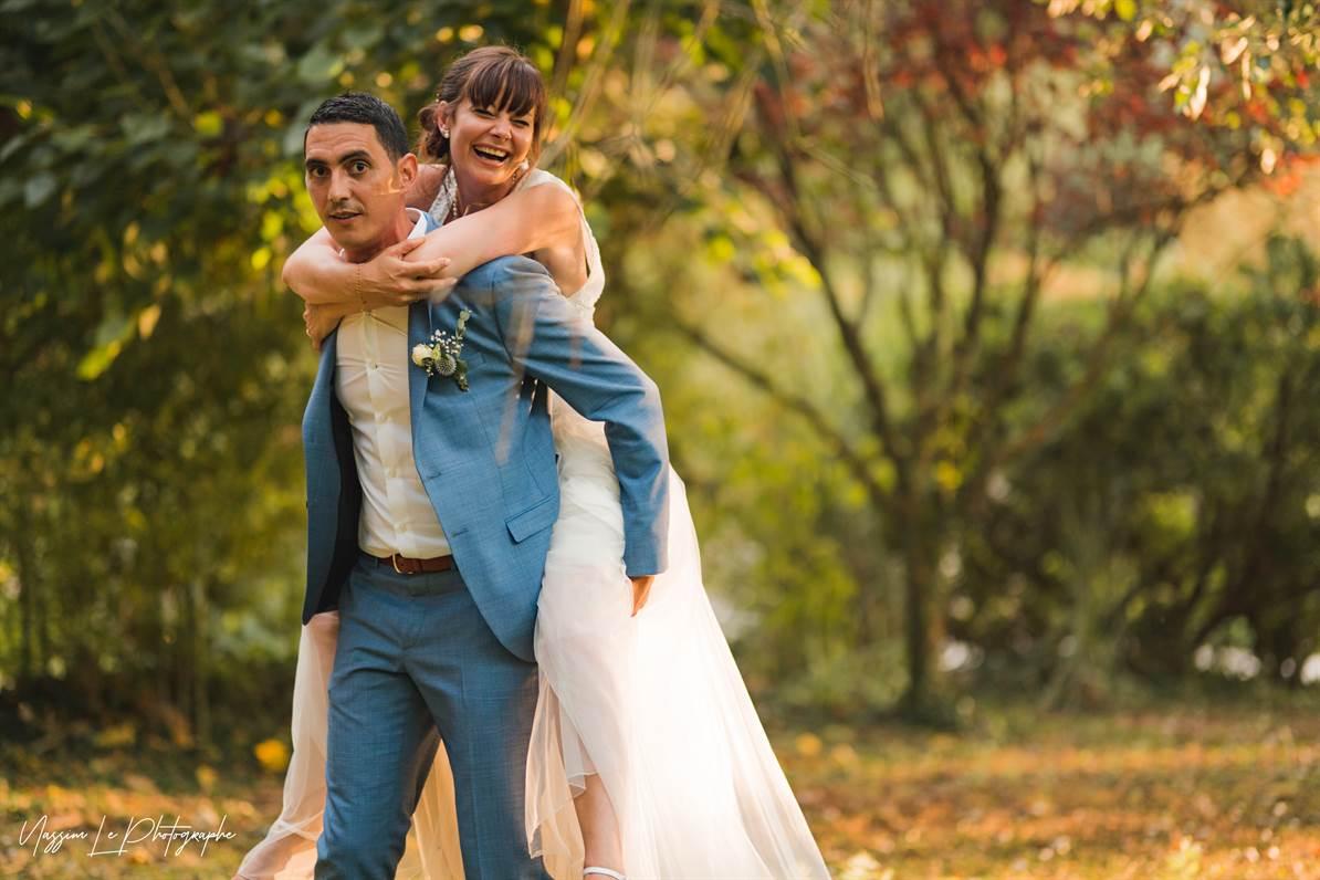 Mariage Amandine & Pierre-Malik : Photo de couple 31