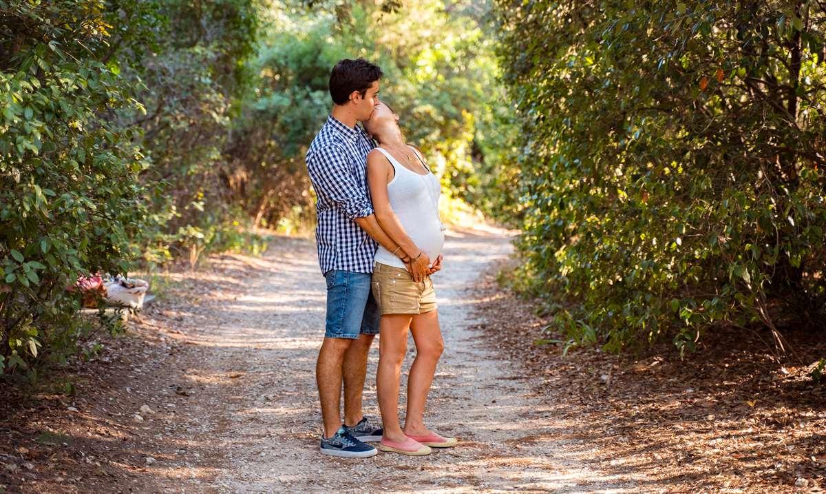 Une séance photo couple/grossesse 2