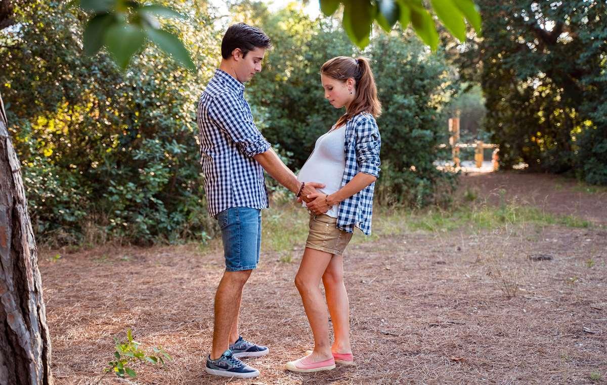 Une séance photo couple/grossesse 3