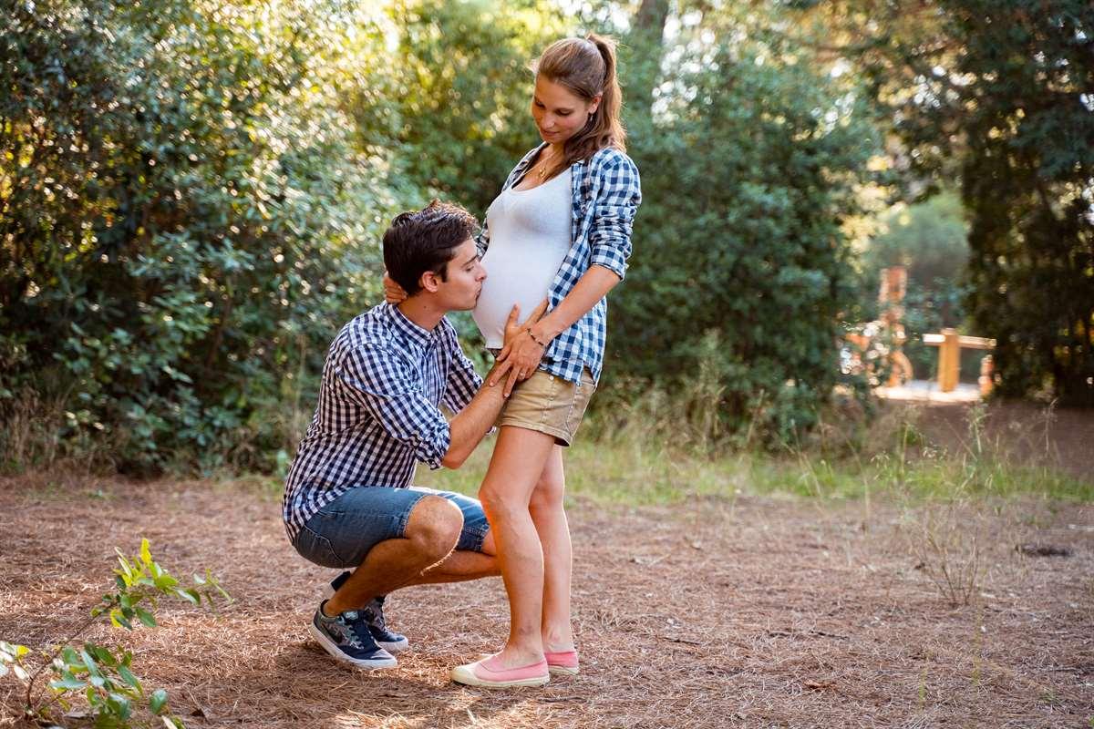 Une séance photo couple/grossesse 5