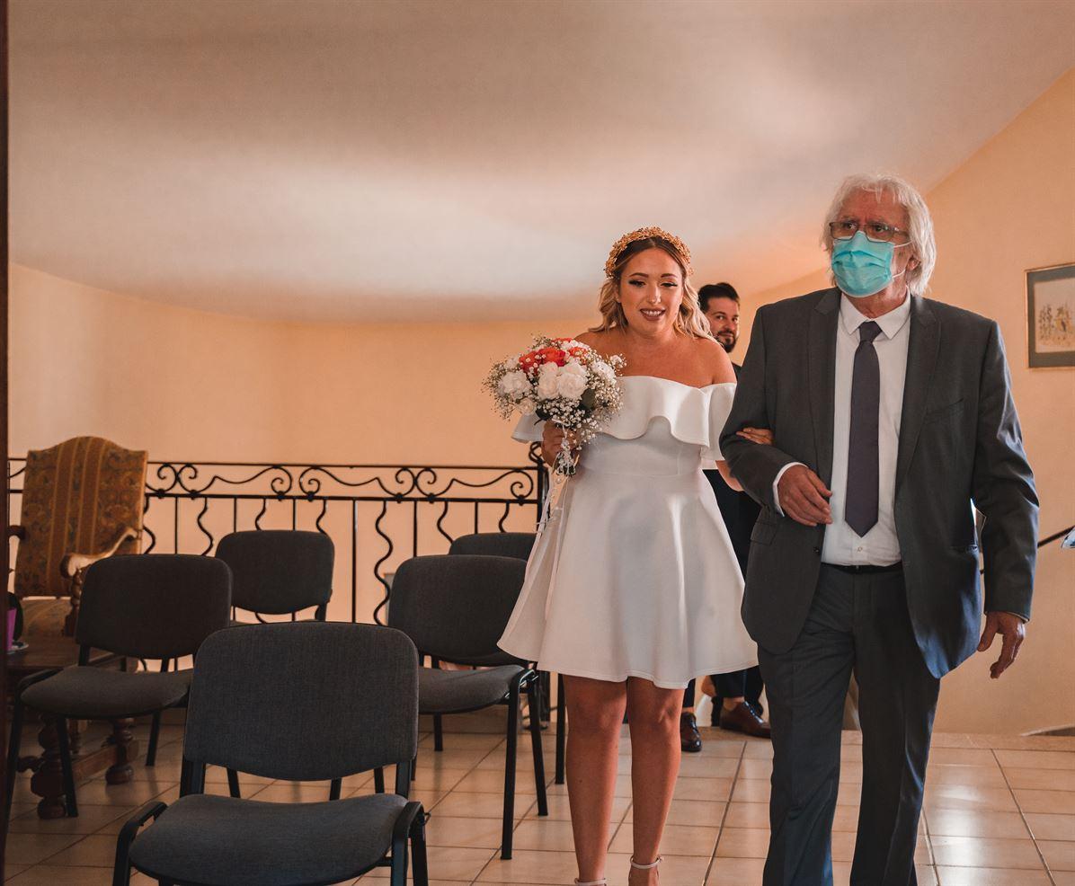 Mariage Claire & Walid : La mairie 78