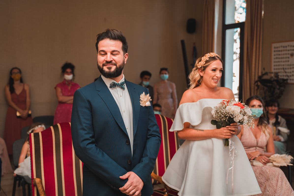Mariage Claire & Walid : La mairie 15