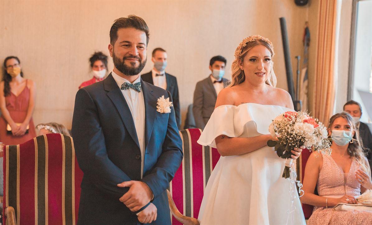 Mariage Claire & Walid : La mairie 21