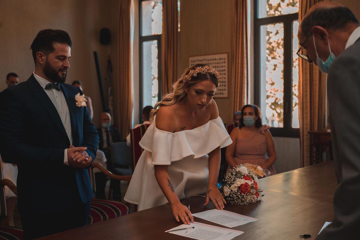 Mariage Claire & Walid : La mairie 30