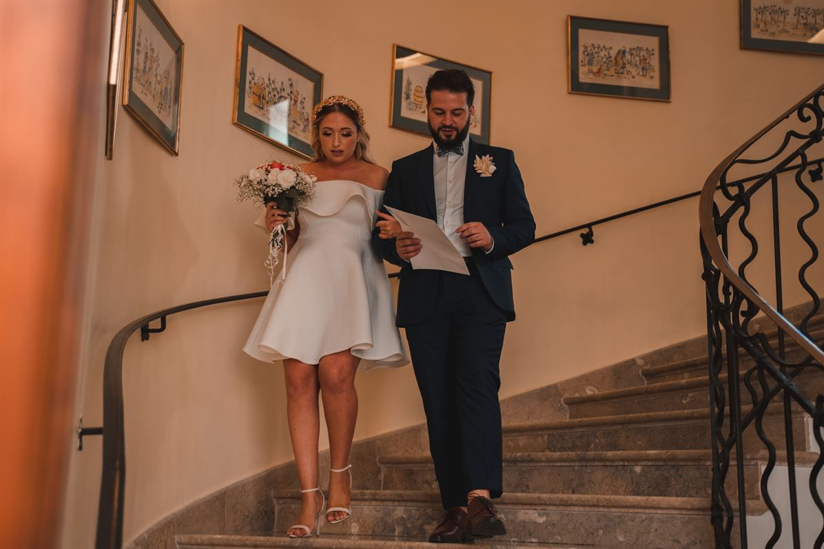 Mariage Claire & Walid : La mairie 55