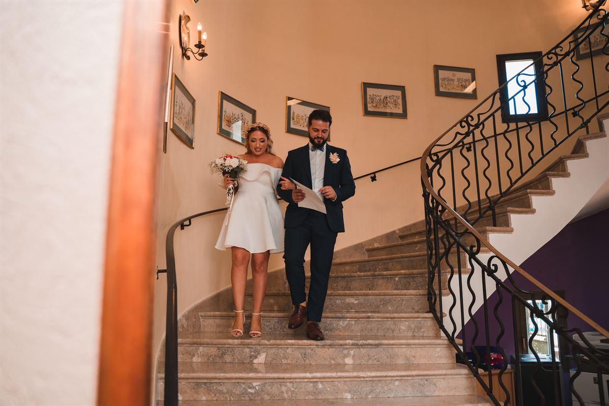 Mariage Claire & Walid : La mairie 56