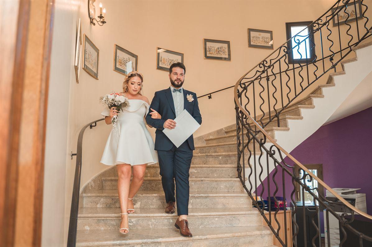 Mariage Claire & Walid : La mairie 58