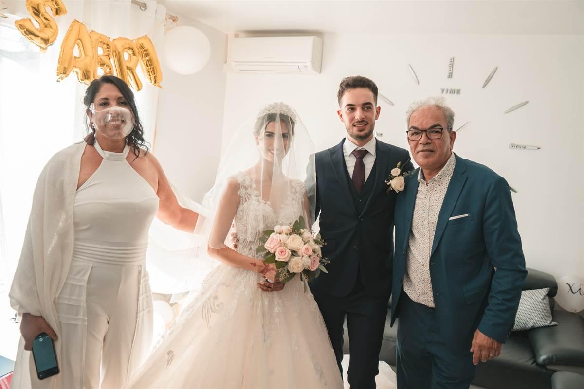 Mariage Sabri & Radia : La mairie 13