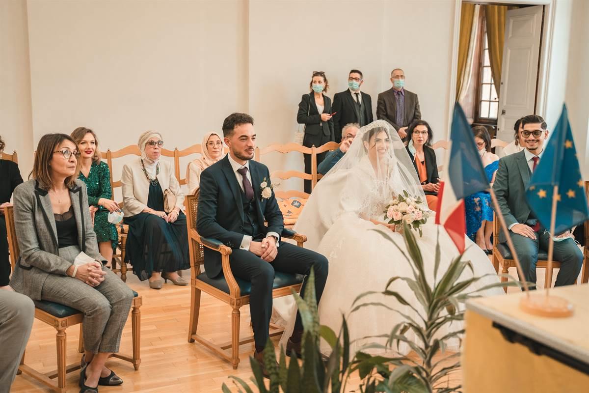 Mariage Sabri & Radia : La mairie 40