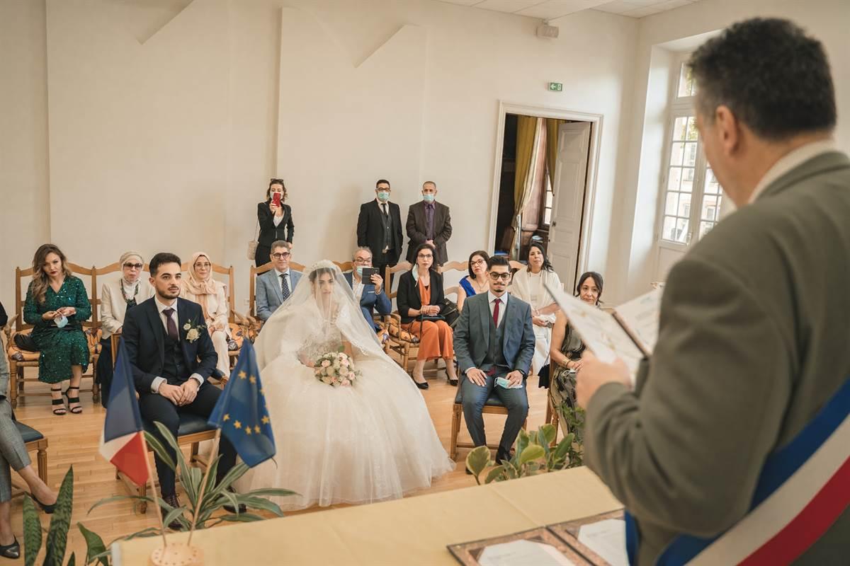 Mariage Sabri & Radia : La mairie 48