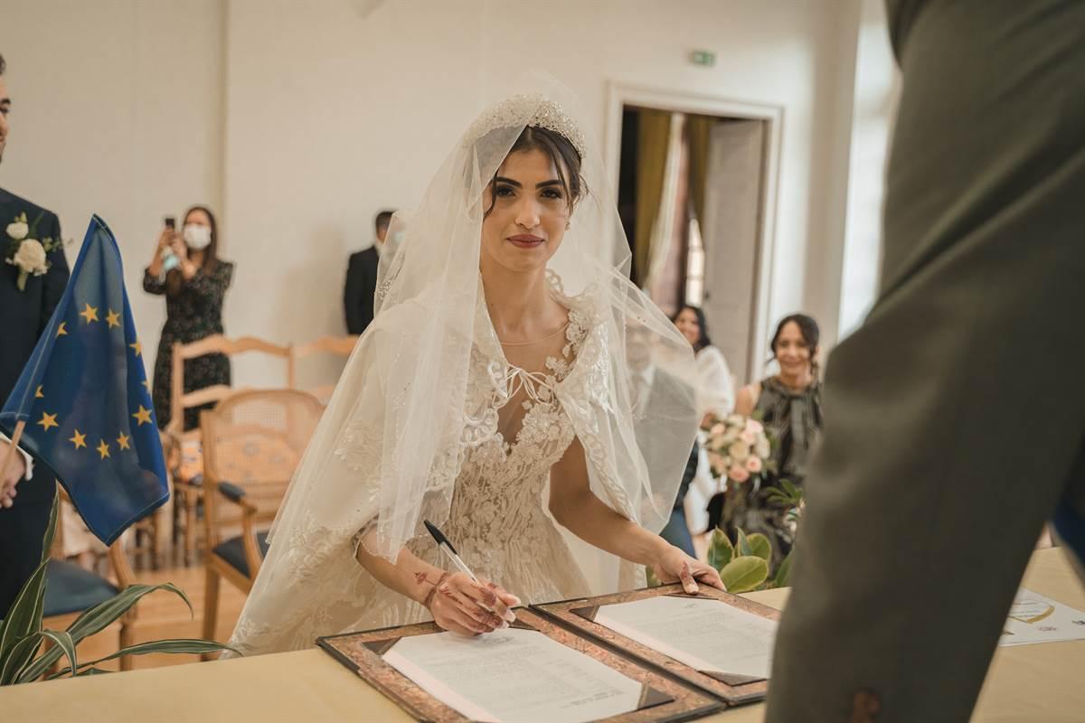 Mariage Sabri & Radia : La mairie 58