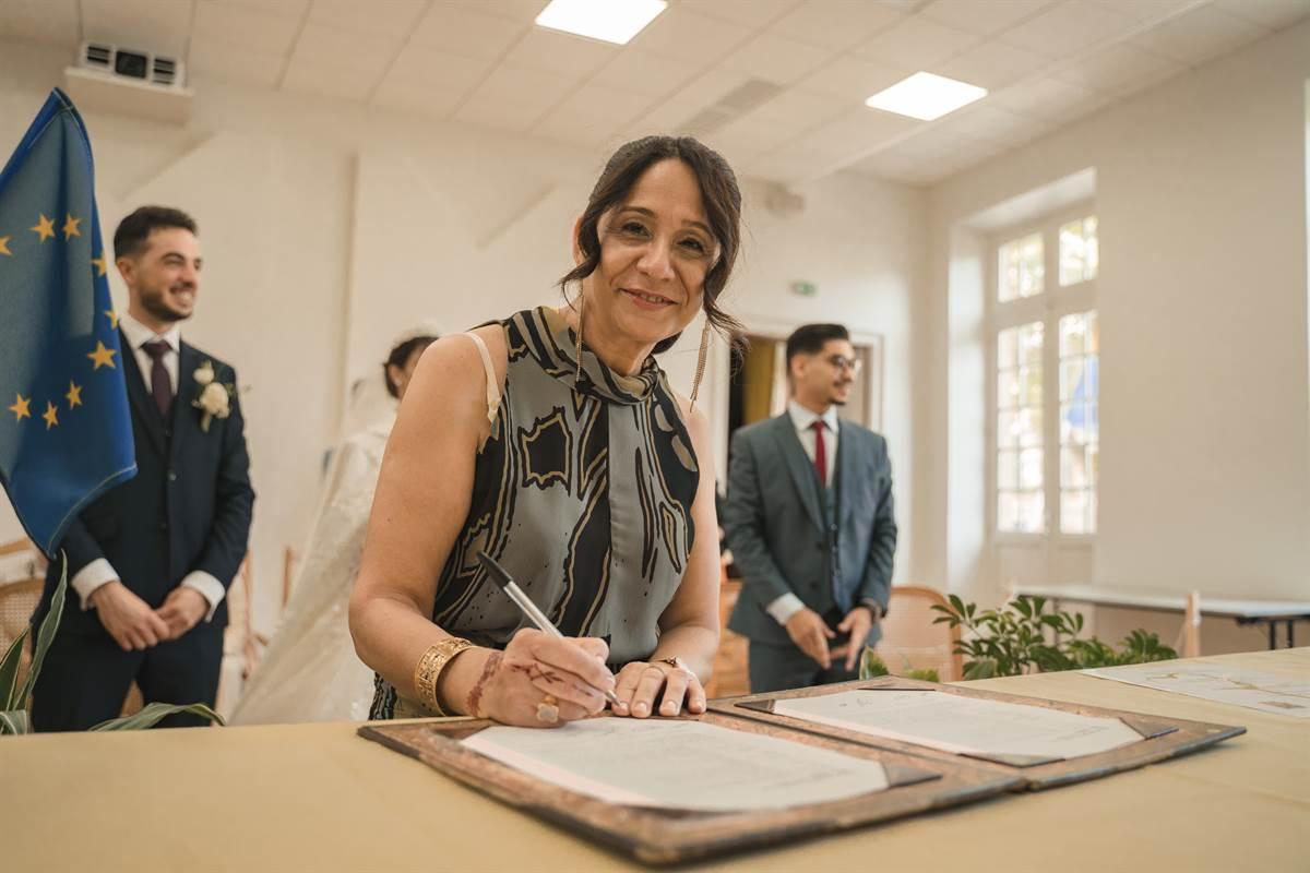 Mariage Sabri & Radia : La mairie 61