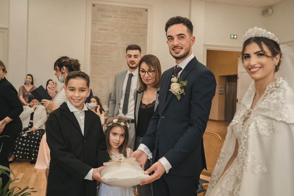 Mariage Sabri & Radia : La mairie 63