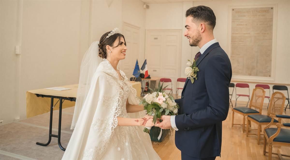 Mariage Sabri & Radia : La mairie 64
