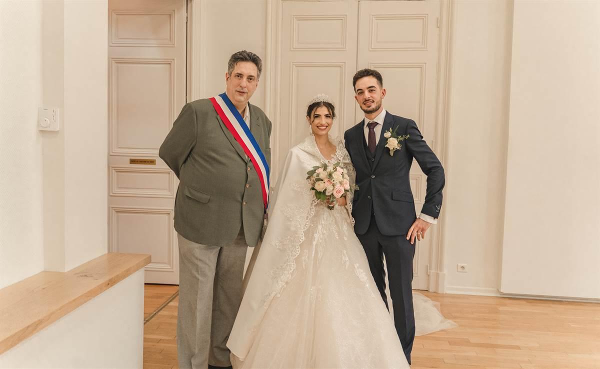 Mariage Sabri & Radia : La mairie 77
