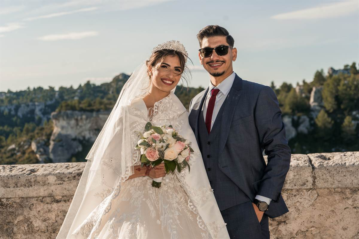 Mariage Sabri & Radia : Photo de couple 19
