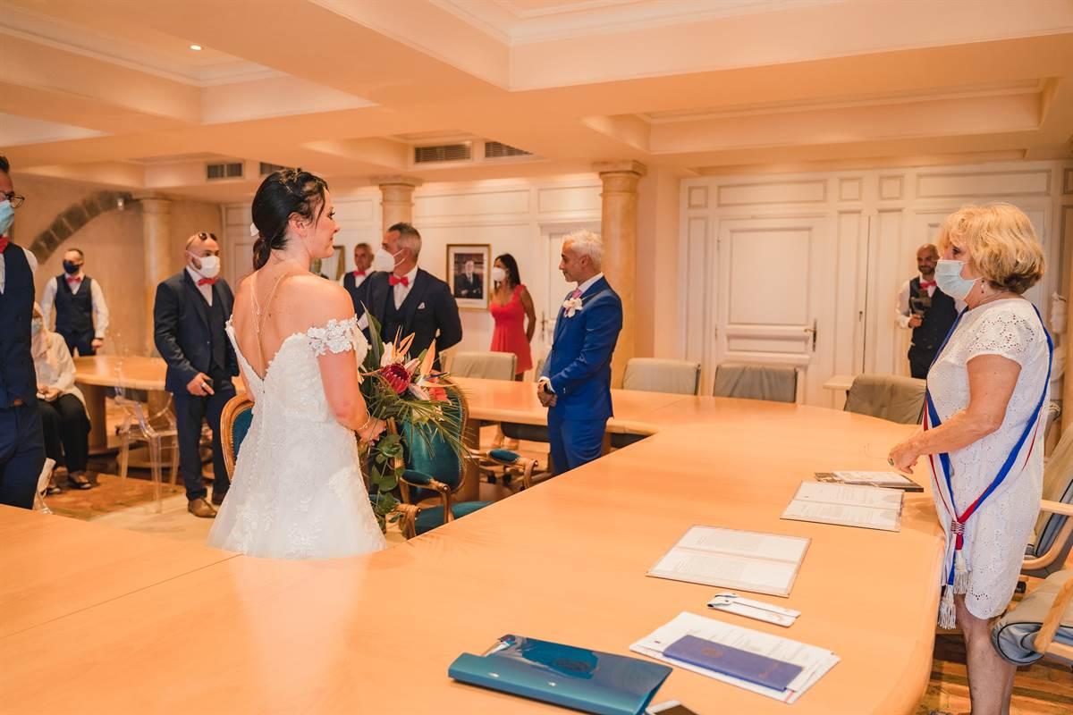 Mariage Hicham & Céline : La mairie 14