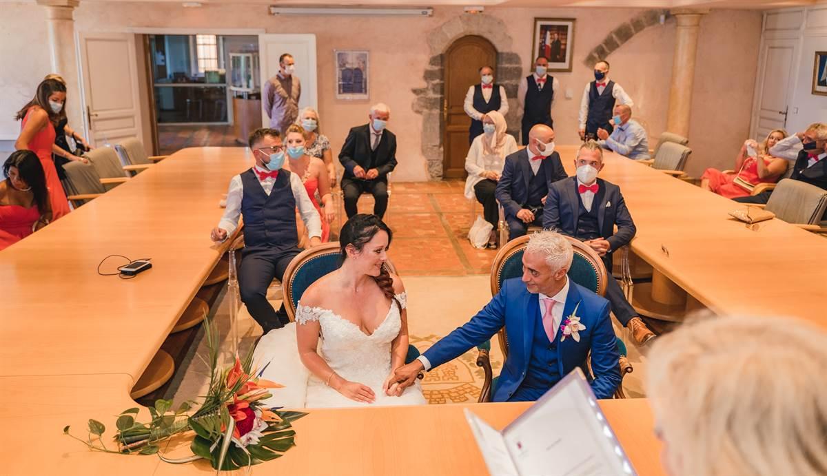 Mariage Hicham & Céline : La mairie 16