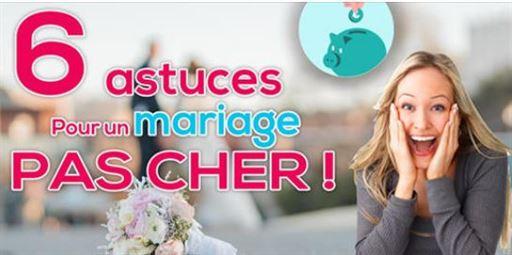 6 astuces pour faire un mariage pas cher 1